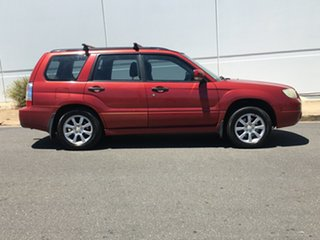 2005 Subaru Forester 79V MY06 XS AWD Red 4 Speed Automatic Wagon.
