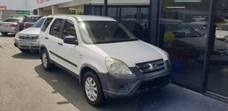 2006 Honda CR-V RD MY2006 4WD White 5 Speed Automatic Wagon.