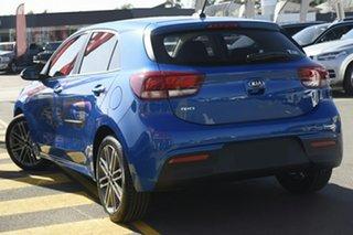 2021 Kia Rio YB MY21 Sport Sporty Blue 6 Speed Automatic Hatchback.