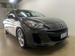 2013 Mazda 3 BL Series 2 MY13 Neo Grey 5 Speed Automatic Sedan.