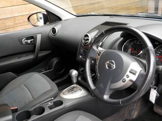 2013 Nissan Dualis J10W Series 3 MY12 ST Hatch X-tronic 2WD Black 6 Speed Constant Variable