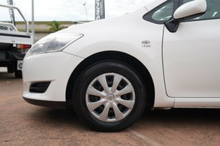 2007 Toyota Corolla ZRE152R Ascent White 6 Speed Manual Hatchback.