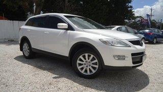 2009 Mazda CX-9 TB10A1 Classic White 6 Speed Sports Automatic Wagon.