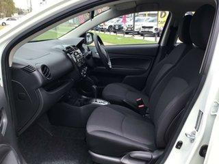 2019 Mitsubishi Mirage LA MY20 ES White 1 Speed Constant Variable Hatchback