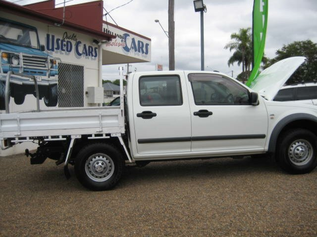 Used Holden Rodeo North Ipswich, 2006 Holden Rodeo White Automatic Dual Cab