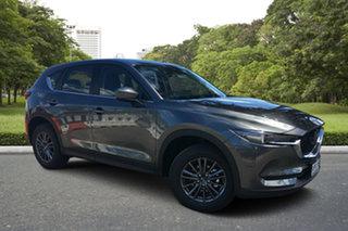 2020 Mazda CX-5 KF2W7A Maxx SKYACTIV-Drive FWD Sport Machine Grey 6 Speed Sports Automatic Wagon.