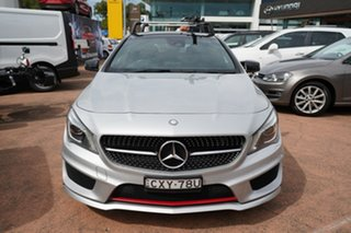 2015 Mercedes-Benz CLA250 Shooting Brake 117 4Matic Silver 7 Speed Auto Dual Clutch Wagon