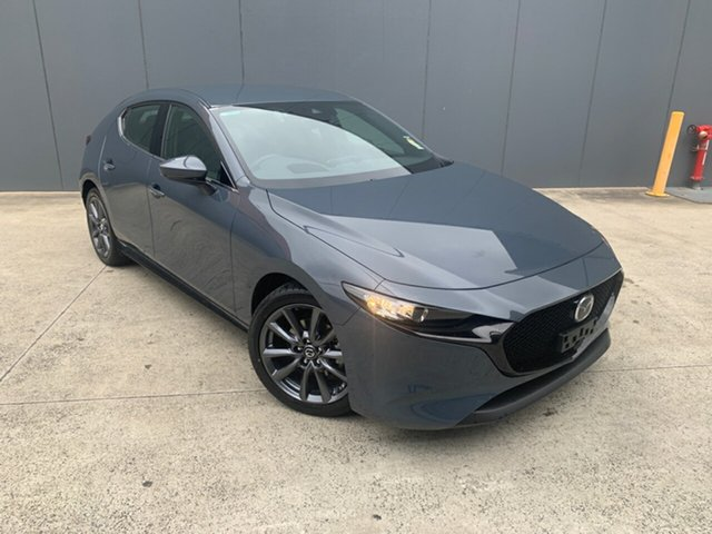 New Mazda 3 BP2HLA G25 SKYACTIV-Drive GT Alexandria, 2020 Mazda 3 BP2HLA G25 SKYACTIV-Drive GT Polymetal Grey 6 Speed Sports Automatic Hatchback