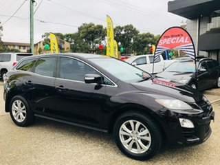 2010 Mazda CX-7 ER10A2 Sports Maroon 6 Speed Manual Wagon