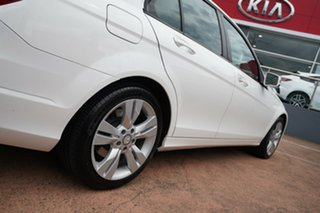 2014 Mercedes-Benz C200 W204 MY14 White 7 Speed Automatic G-Tronic Sedan