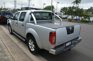 2013 Nissan Navara D40 MY12 ST (4x4) Silver 6 Speed Manual Dual Cab Pick-up