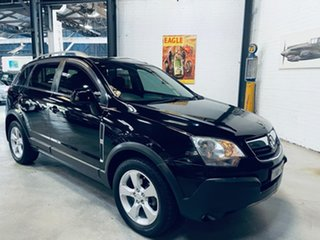 2007 Holden Captiva CG MY08 Maxx AWD Black 5 Speed Sports Automatic Wagon