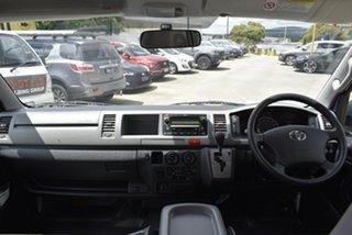 2009 Toyota HiAce TRH223R MY10 Commuter High Roof Super LWB White 5 Speed Manual Bus
