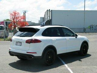 2016 Porsche Cayenne Series 2 MY16 Diesel White 8 Speed Automatic Tiptronic Wagon