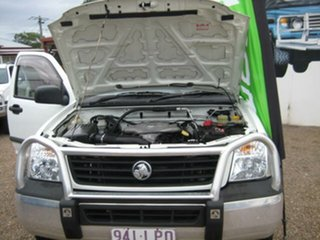 2006 Holden Rodeo White Automatic Dual Cab.