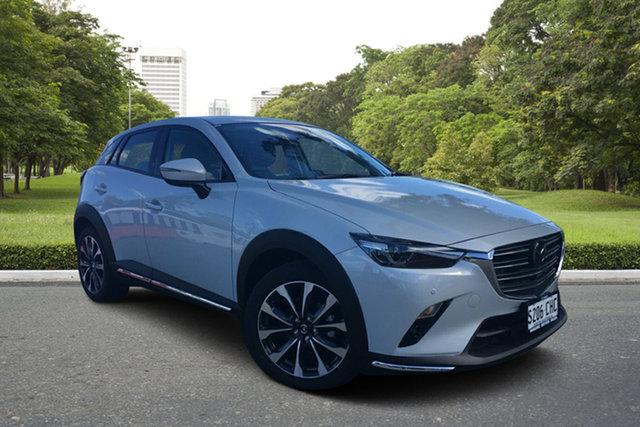 Demo Mazda CX-3 DK2W7A Akari SKYACTIV-Drive FWD Paradise, 2020 Mazda CX-3 DK2W7A Akari SKYACTIV-Drive FWD Ceramic 6 Speed Sports Automatic Wagon