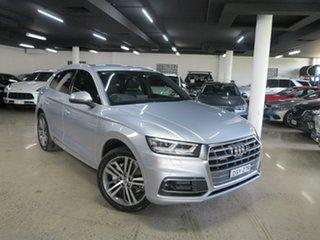 2017 Audi Q5 FY MY18 TDI S Tronic Quattro Ultra Sport Silver 7 Speed Sports Automatic Dual Clutch.