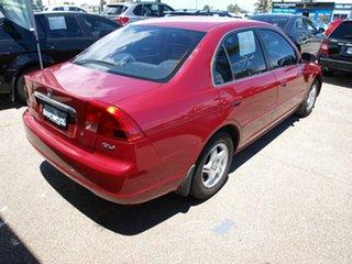 2002 Honda Civic 7th Gen MY2002 GLi Red 4 Speed Automatic Sedan