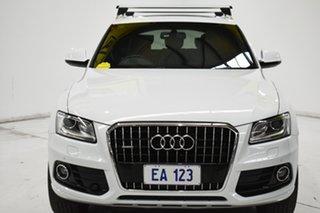 2016 Audi Q5 8R MY17 TFSI Tiptronic Quattro Sport Edition White 8 Speed Sports Automatic Wagon.