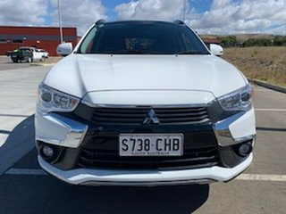 2017 Mitsubishi ASX XC MY17 XLS White 6 Speed Sports Automatic Wagon.