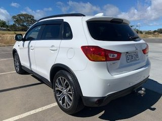 2017 Mitsubishi ASX XC MY17 XLS White 6 Speed Sports Automatic Wagon