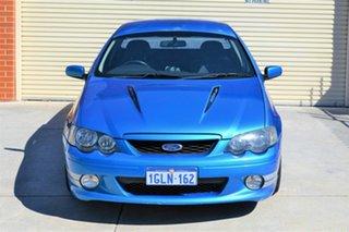 2003 Ford Falcon BA XR8 Ute Super Cab Blue 5 Speed Manual Utility.