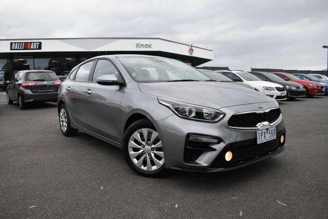 Used Kia Cerato BD MY20 S Wantirna South, 2019 Kia Cerato BD MY20 S Grey 6 Speed Sports Automatic Hatchback