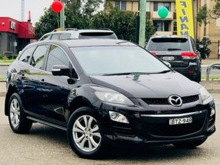 2010 Mazda CX-7 ER10A2 Sports Maroon 6 Speed Manual Wagon.
