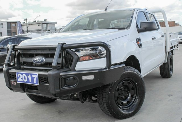 Used Ford Ranger PX MkII XL Coburg North, 2017 Ford Ranger PX MkII XL White 6 Speed Sports Automatic Cab Chassis