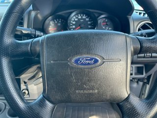 2010 Ford Ranger PK XL Crew Cab White 5 Speed Manual