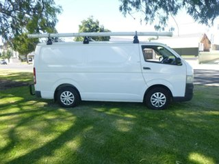 2006 Toyota HiAce KDH200R LWB White 5 Speed Manual Van.