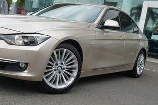 2014 BMW 328i F30 MY14 Upgrade Luxury Line Orion Silver 8 Speed Automatic Sedan.