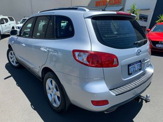 2007 Hyundai Santa Fe CM MY07 Elite Silver 5 Speed Sports Automatic Wagon.
