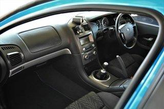 2003 Ford Falcon BA XR8 Ute Super Cab Blue 5 Speed Manual Utility
