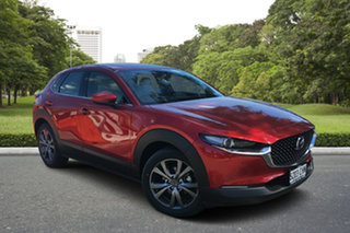 2020 Mazda CX-30 DM2W7A G20 SKYACTIV-Drive Astina Soul Red 6 Speed Sports Automatic Wagon.