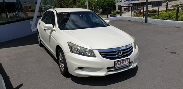 Used Honda Accord 8th Gen MY11 VTi Mount Gravatt, 2011 Honda Accord 8th Gen MY11 VTi White 5 Speed Sports Automatic Sedan