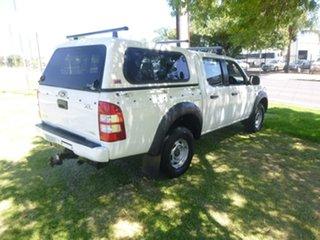 2007 Ford Ranger PJ XL Hi-Rider White Manual Utility
