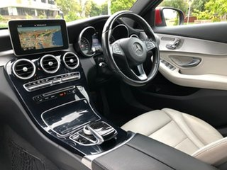 2015 Mercedes-Benz C-Class W205 C250 BlueTEC 7G-Tronic + Red 7 Speed Sports Automatic Sedan