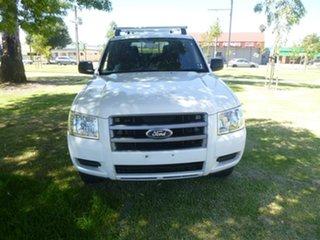 2007 Ford Ranger PJ XL Hi-Rider White Manual Utility.