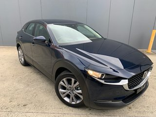 2020 Mazda CX-30 DM2W7A G20 SKYACTIV-Drive Touring Deep Crystal Blue 6 Speed Sports Automatic Wagon.