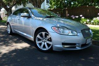 2010 Jaguar XF X250 MY11 Luxury Silver 6 Speed Sports Automatic Sedan.