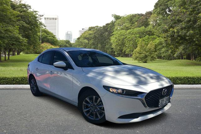 Demo Mazda 3 BP2S7A G20 SKYACTIV-Drive Pure Paradise, 2020 Mazda 3 BP2S7A G20 SKYACTIV-Drive Pure White Pearl 6 Speed Sports Automatic Sedan