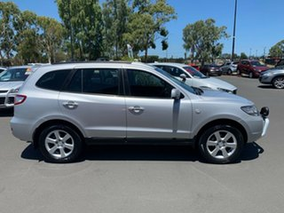 2007 Hyundai Santa Fe CM MY07 Elite Silver 5 Speed Sports Automatic Wagon