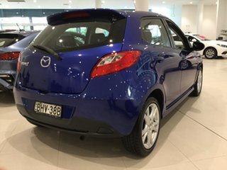 2008 Mazda 2 DE10Y1 Genki Blue 4 Speed Automatic Hatchback