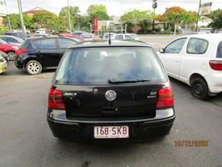 2003 Volkswagen Golf 2.0 S Black 4 Speed Automatic Hatchback