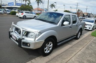 2013 Nissan Navara D40 MY12 ST (4x4) Silver 6 Speed Manual Dual Cab Pick-up.