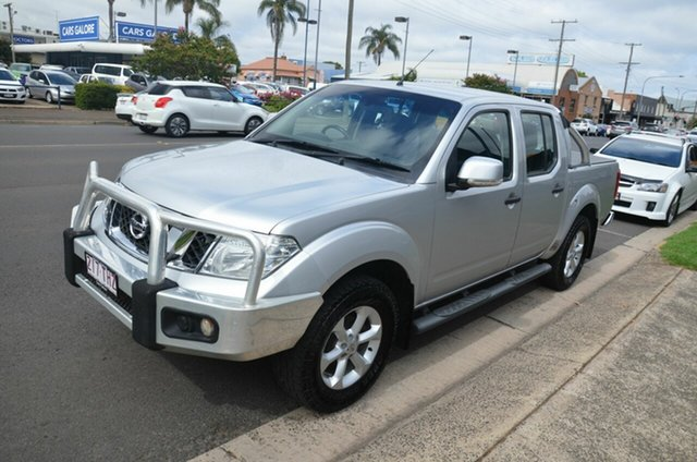Used Nissan Navara D40 MY12 ST (4x4) Toowoomba, 2013 Nissan Navara D40 MY12 ST (4x4) Silver 6 Speed Manual Dual Cab Pick-up