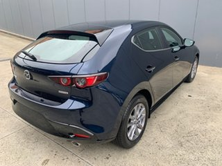 2020 Mazda 3 BP2H7A G20 SKYACTIV-Drive Pure Deep Crystal Blue 6 Speed Sports Automatic Hatchback