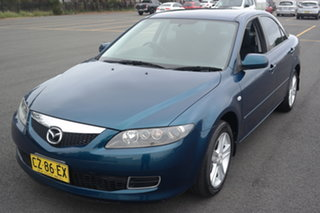 2006 Mazda 6 GG1032 Classic Blue 5 Speed Sports Automatic Sedan.
