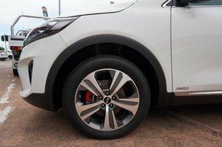 2019 Kia Sorento UM PE MY20 GT-Line (4x4) White 8 Speed Automatic Wagon.
